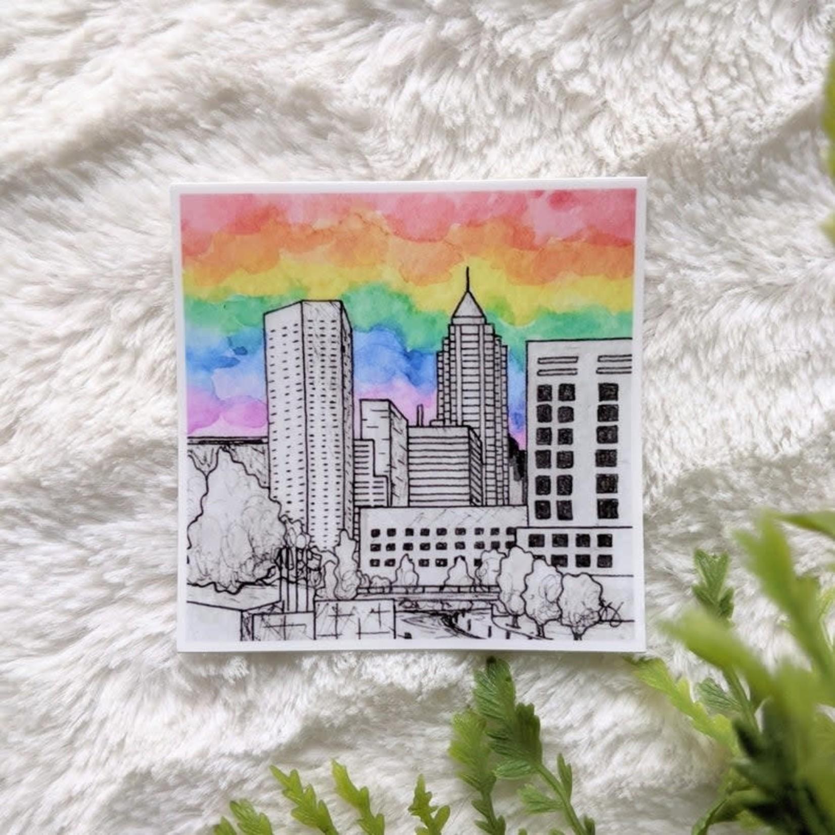 Skye Smith Pride in the City Sticker