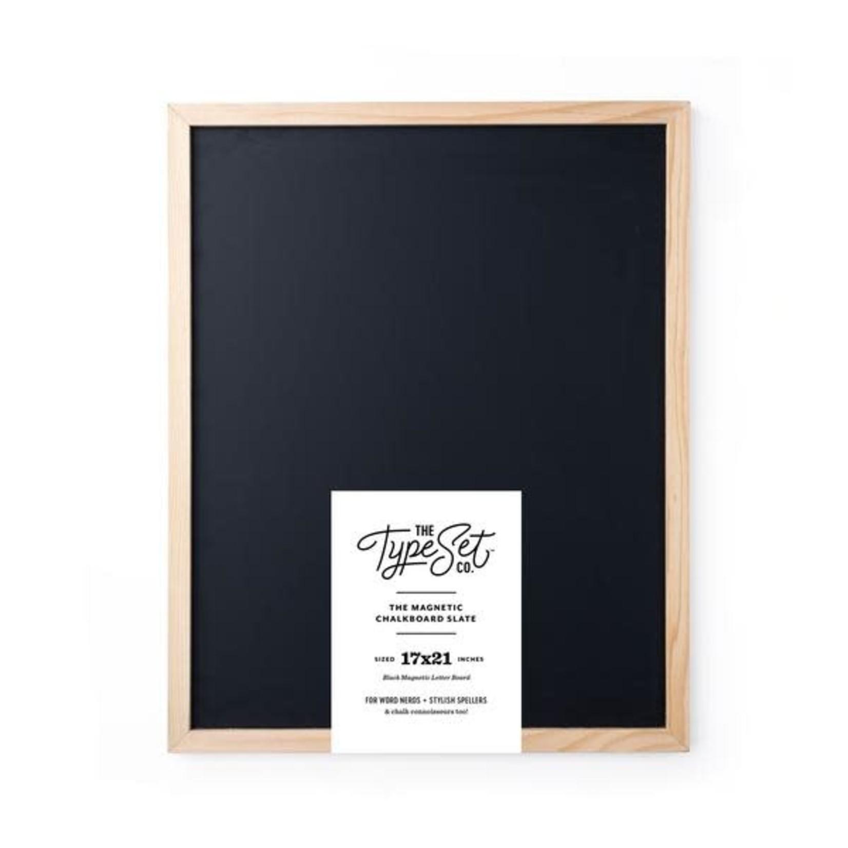 "17""x21"" Slate Magnetic Letter Board"