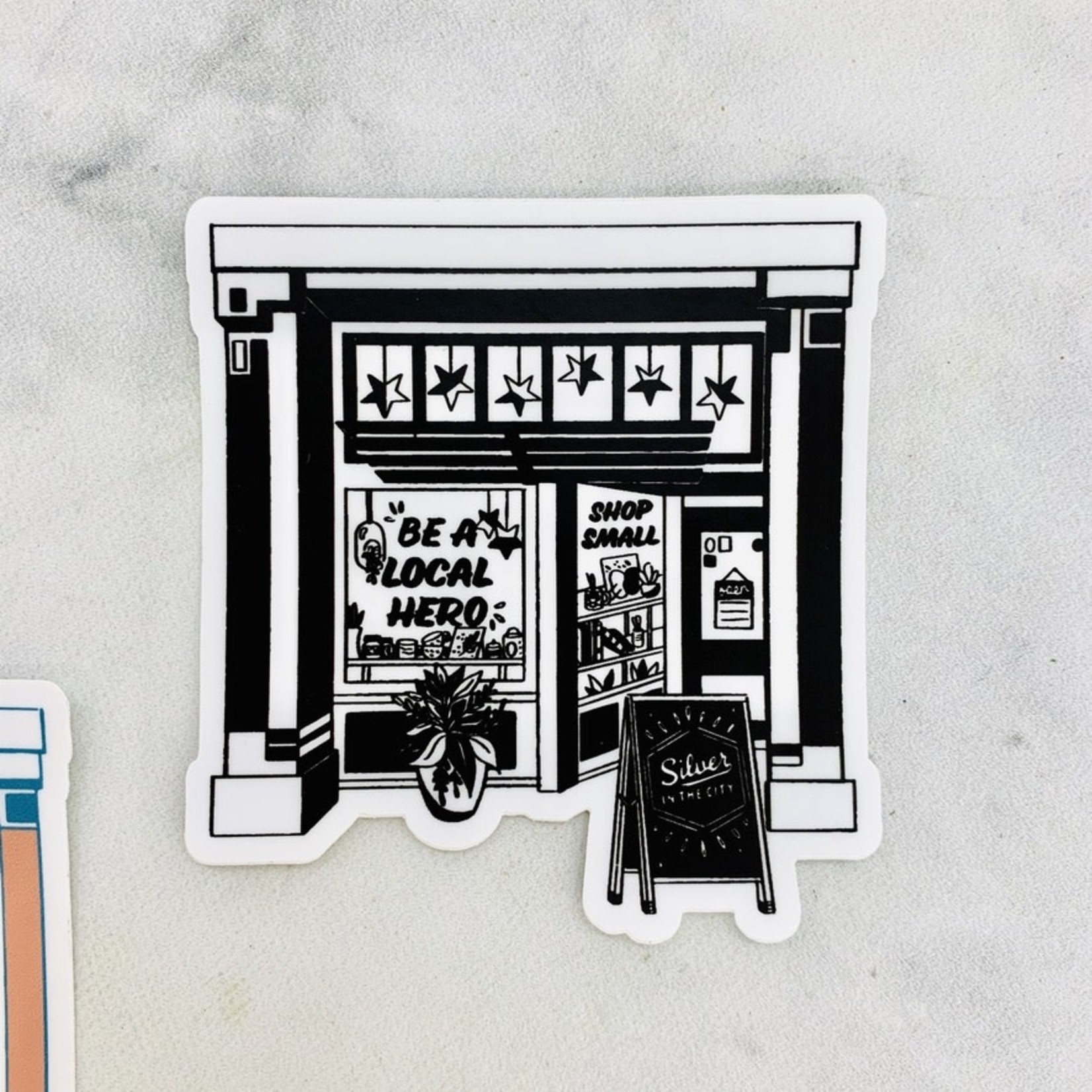 Shop Small Storefront Sticker
