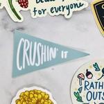 Craft Boner Crushin' It Sticker