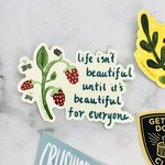 Beautiful For Everyone Sticker