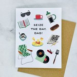 Dad Seize the Day Card