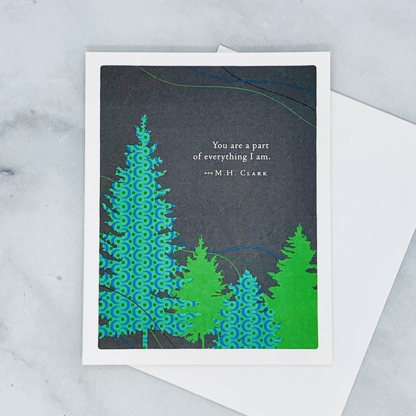 You are a part of everything I am Father's Day Card