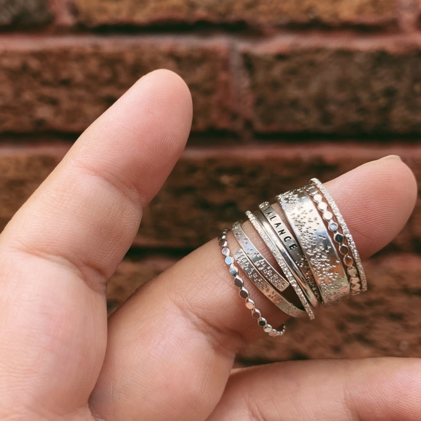 Sterling Silver Sparkle Ring