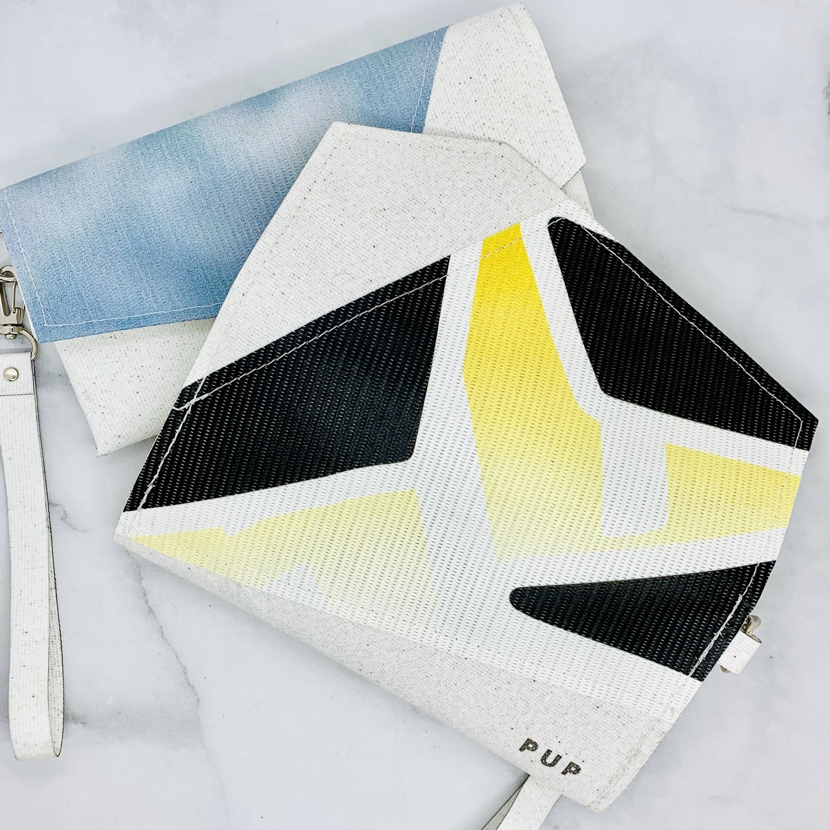 Curator Clutch Made From the Roof of the RCA Dome