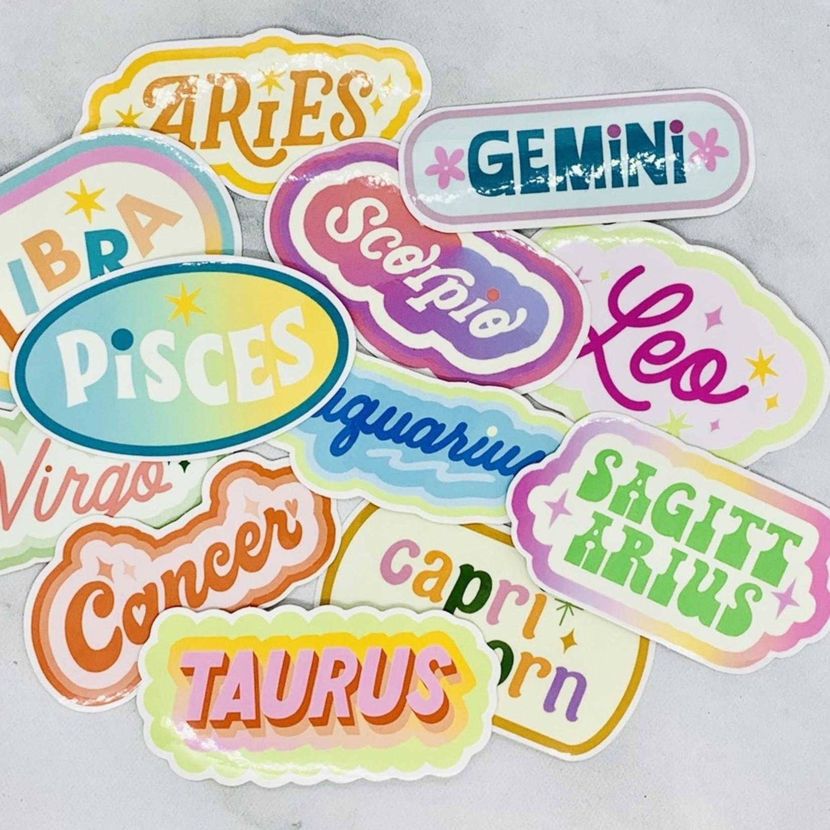 Have A Nice Day c/o Faire Zodiac Sticker