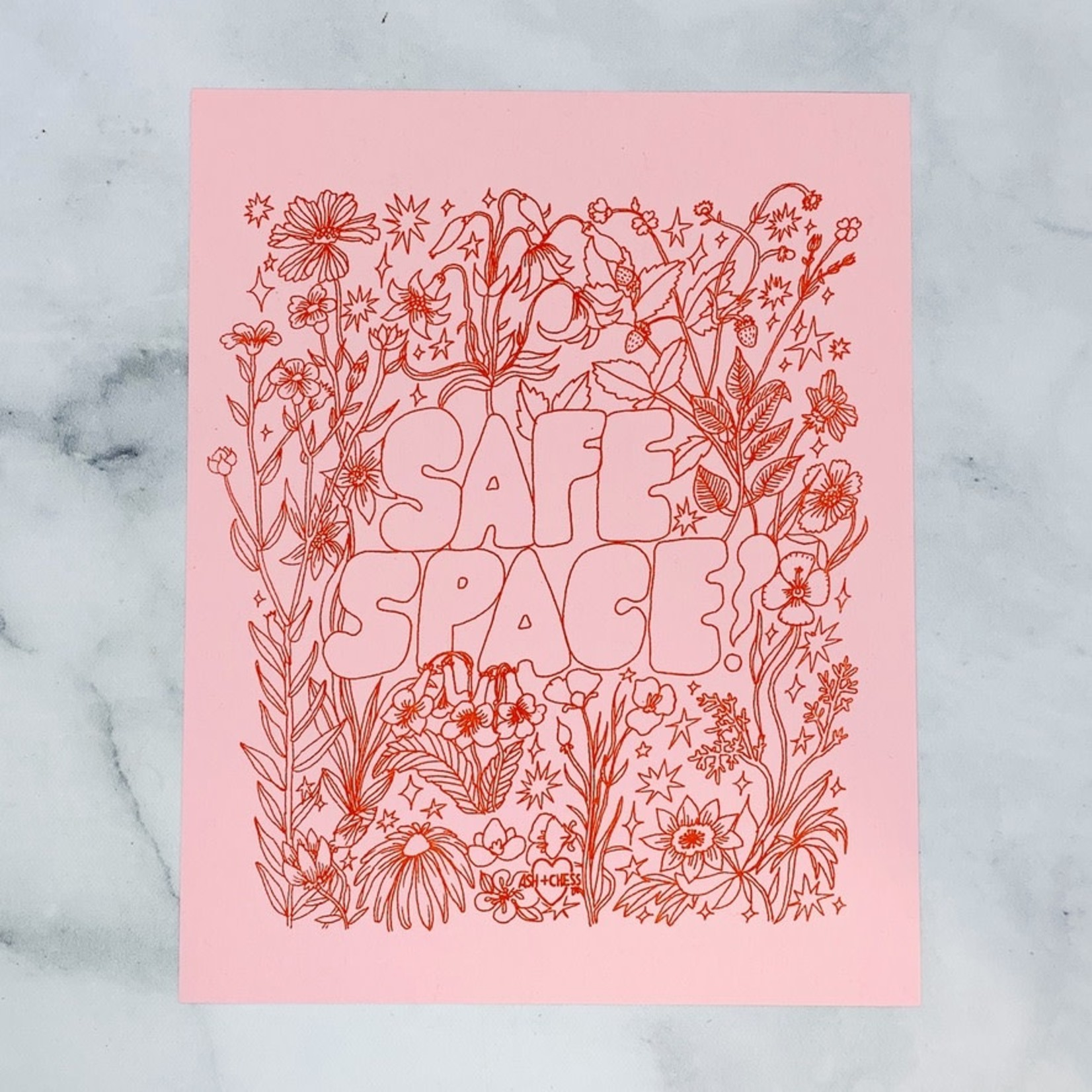 Safe Space Print