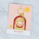 Have A Nice Day c/o Faire Rainbow Road Bottle Opener Keychain
