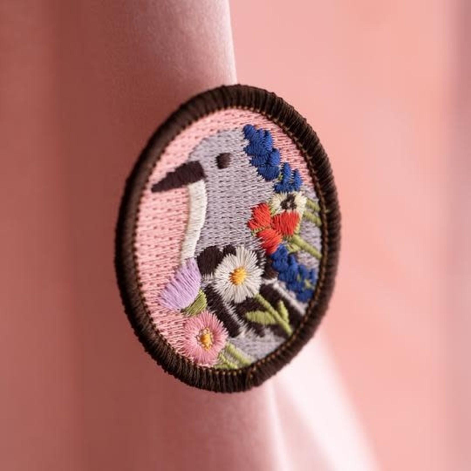 Tiny Deer Studio Embroidered Brooch