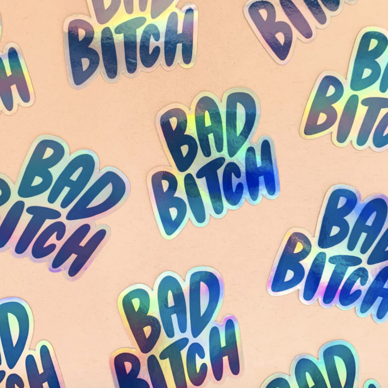 Craft Boner Bad Bitch Holographic Sticker