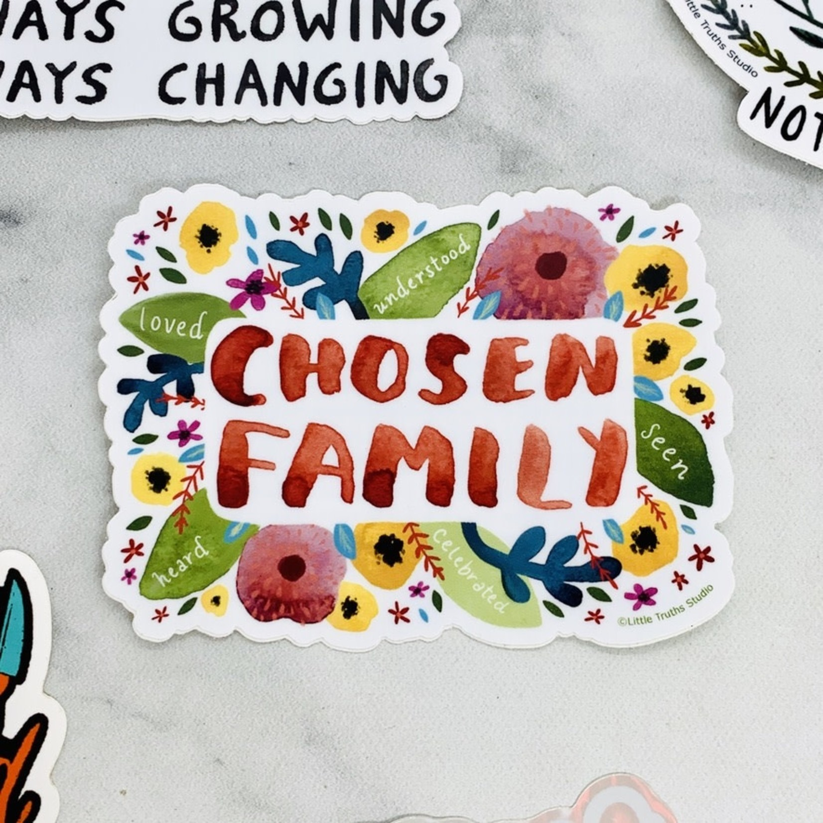 Chosen Family Sticker