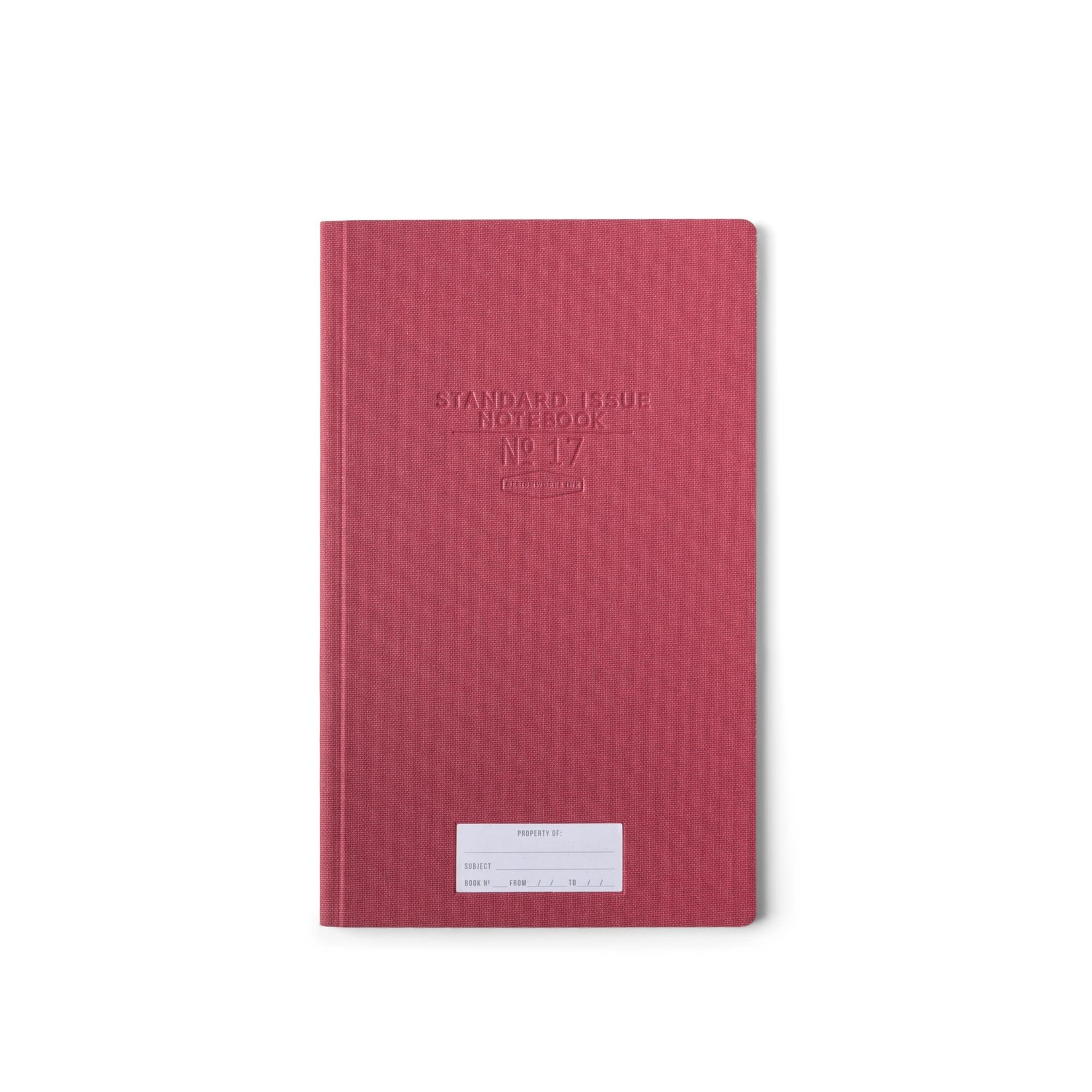 Design Works Standard Issue Tall Notebook No.17