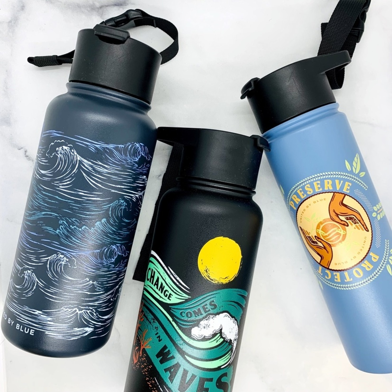 United By Blue Stainless Steel Water Bottle