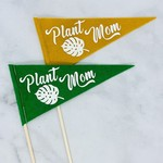Flair City Supply Co Plant Mom Mini Pennant