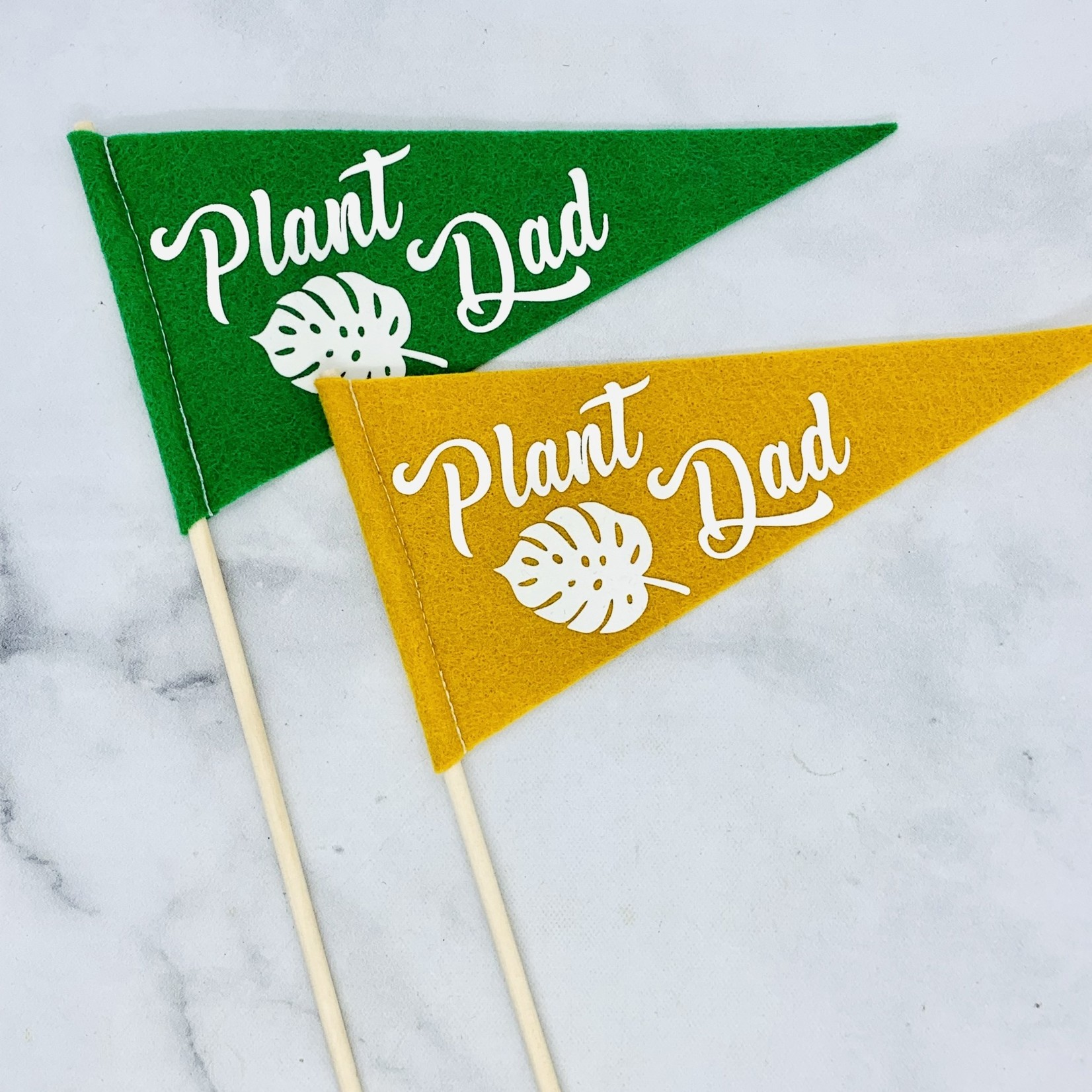 Flair City Supply Co Plant Dad Mini Pennant