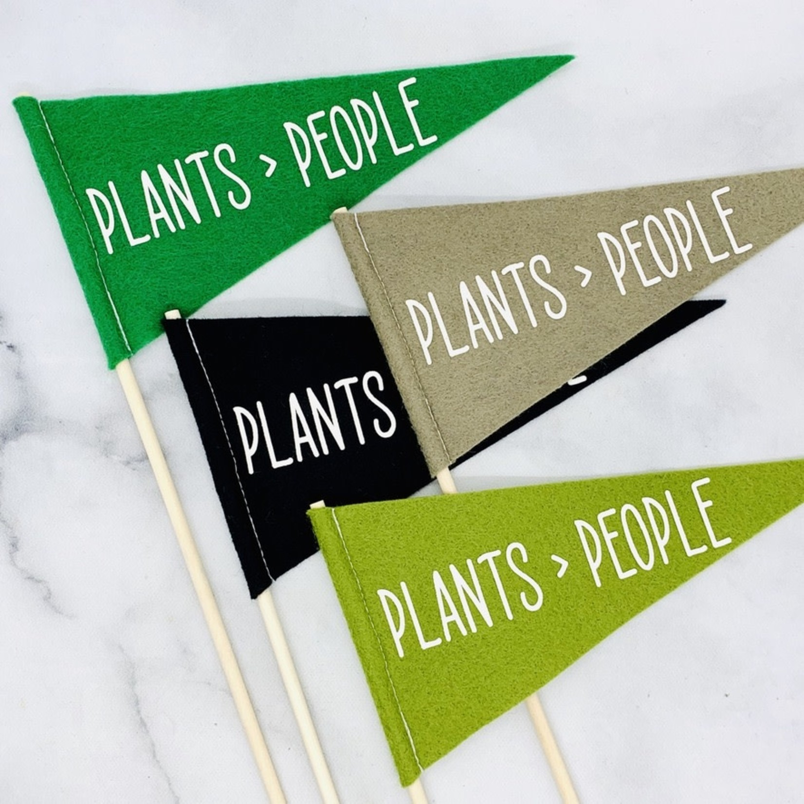 Flair City Supply Co Plants > People Mini Pennant