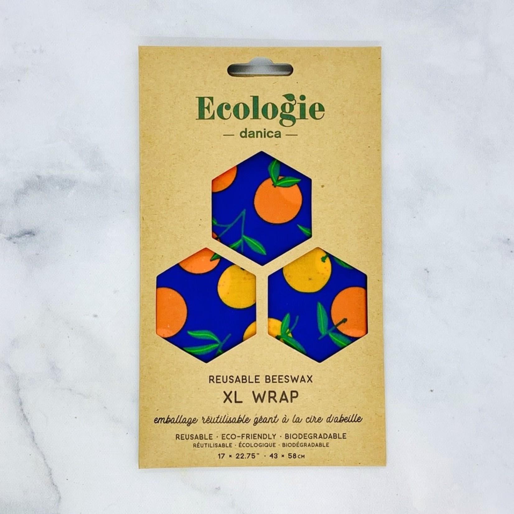Bee's Wax Wrap XL Citrus
