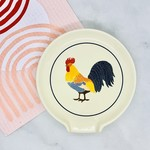 Rooster Francaise Spoon Rest