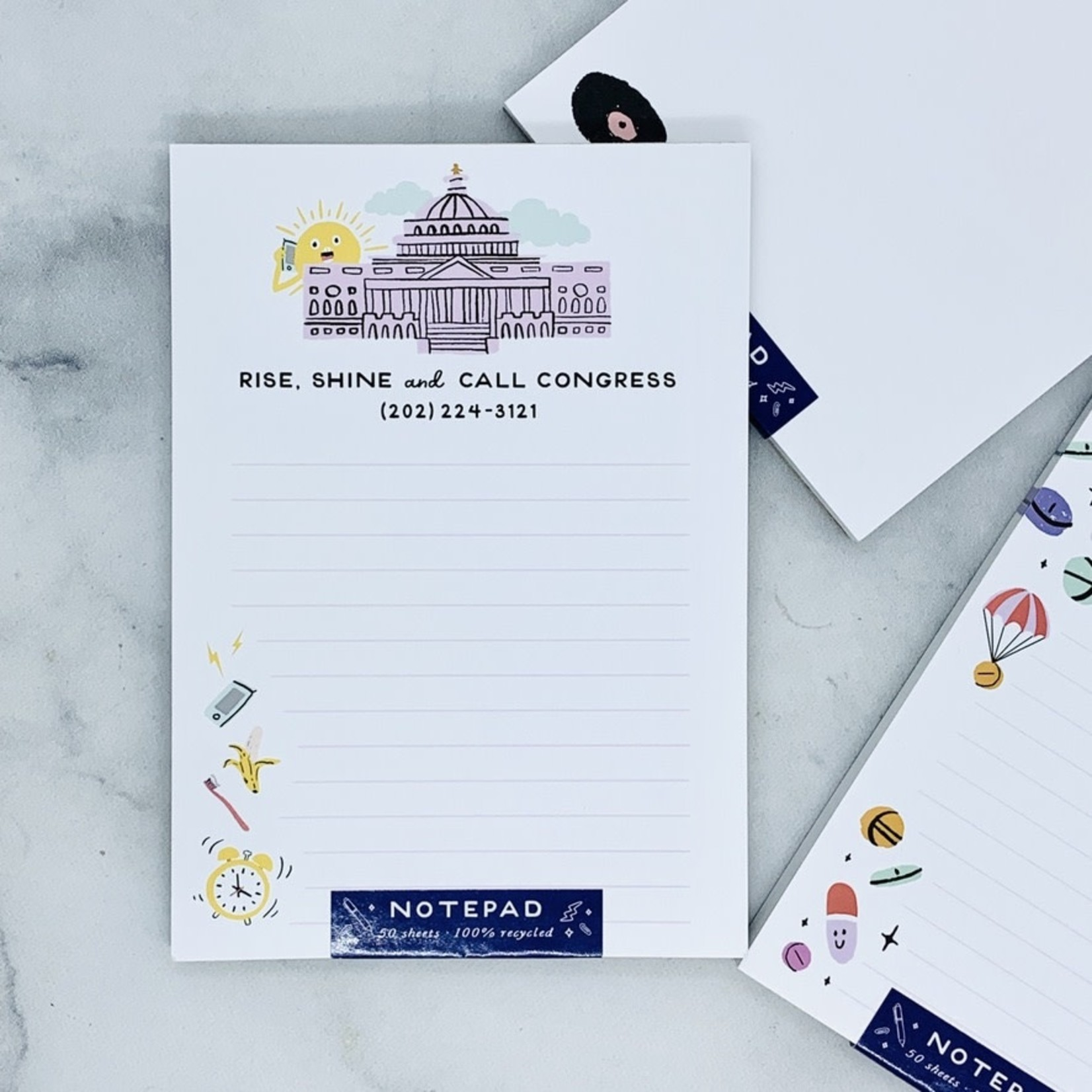 Call Congress Notepad