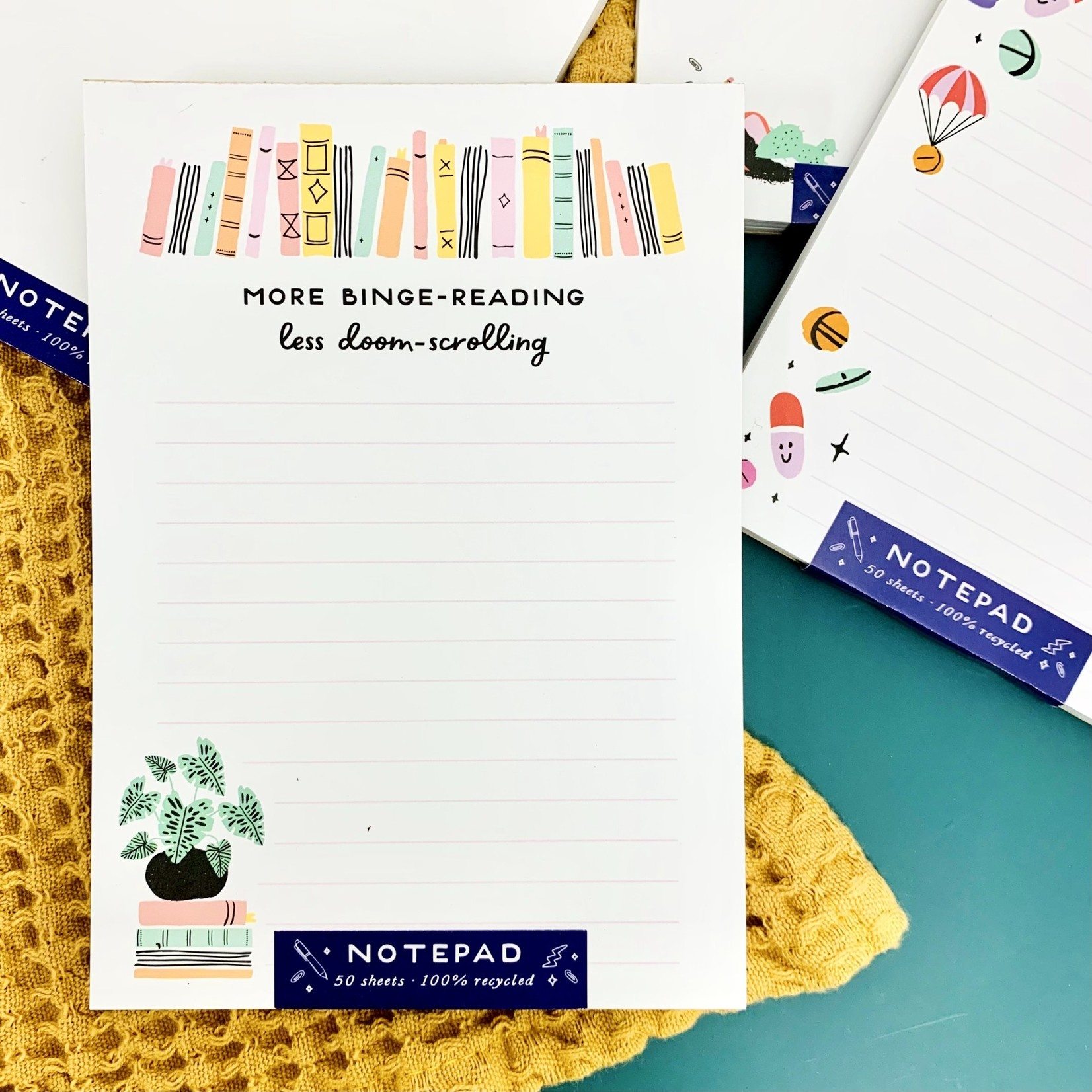 Binge-Reading Notepad