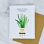 Pothead Birthday Card