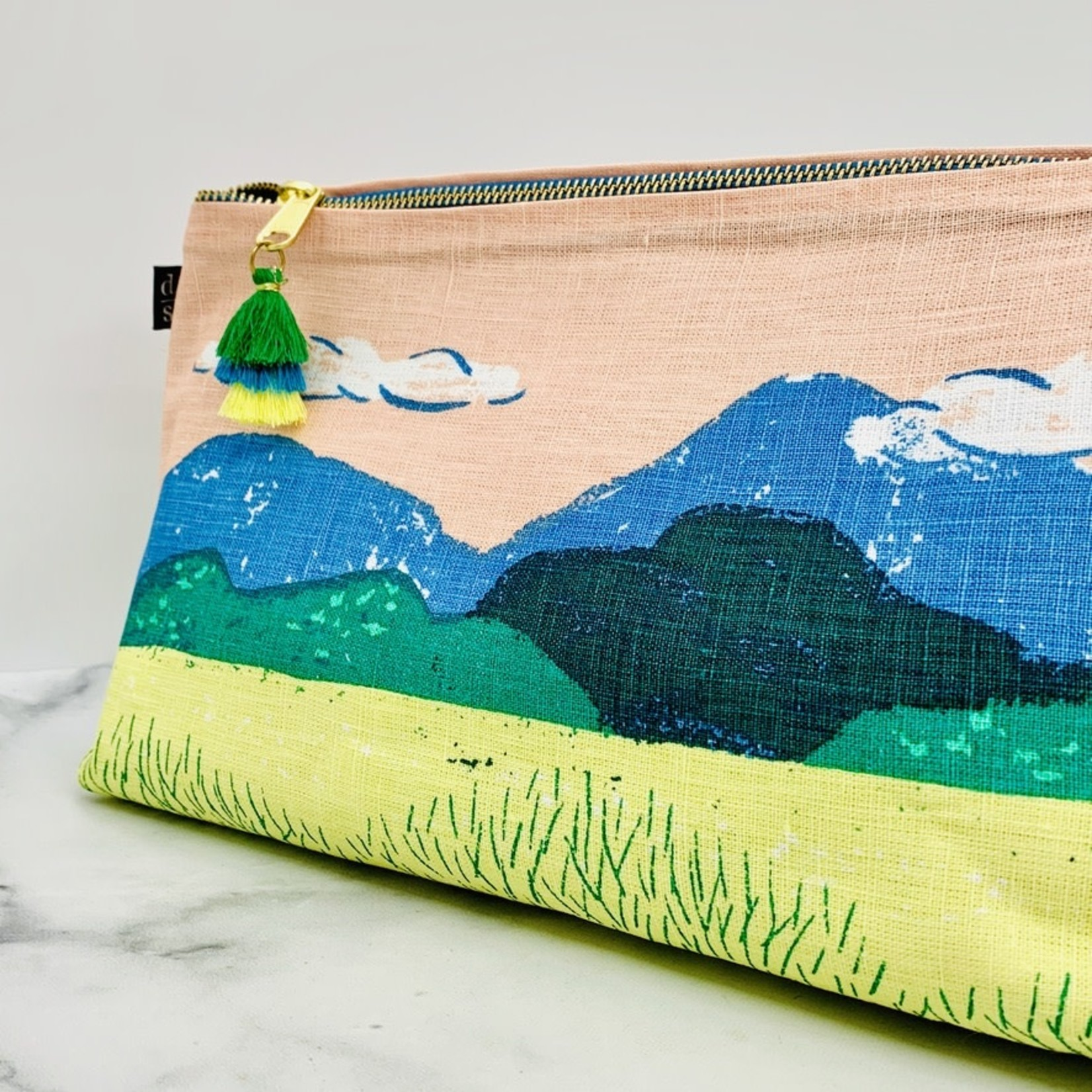 Large Haven Cosmetic Linen Bag