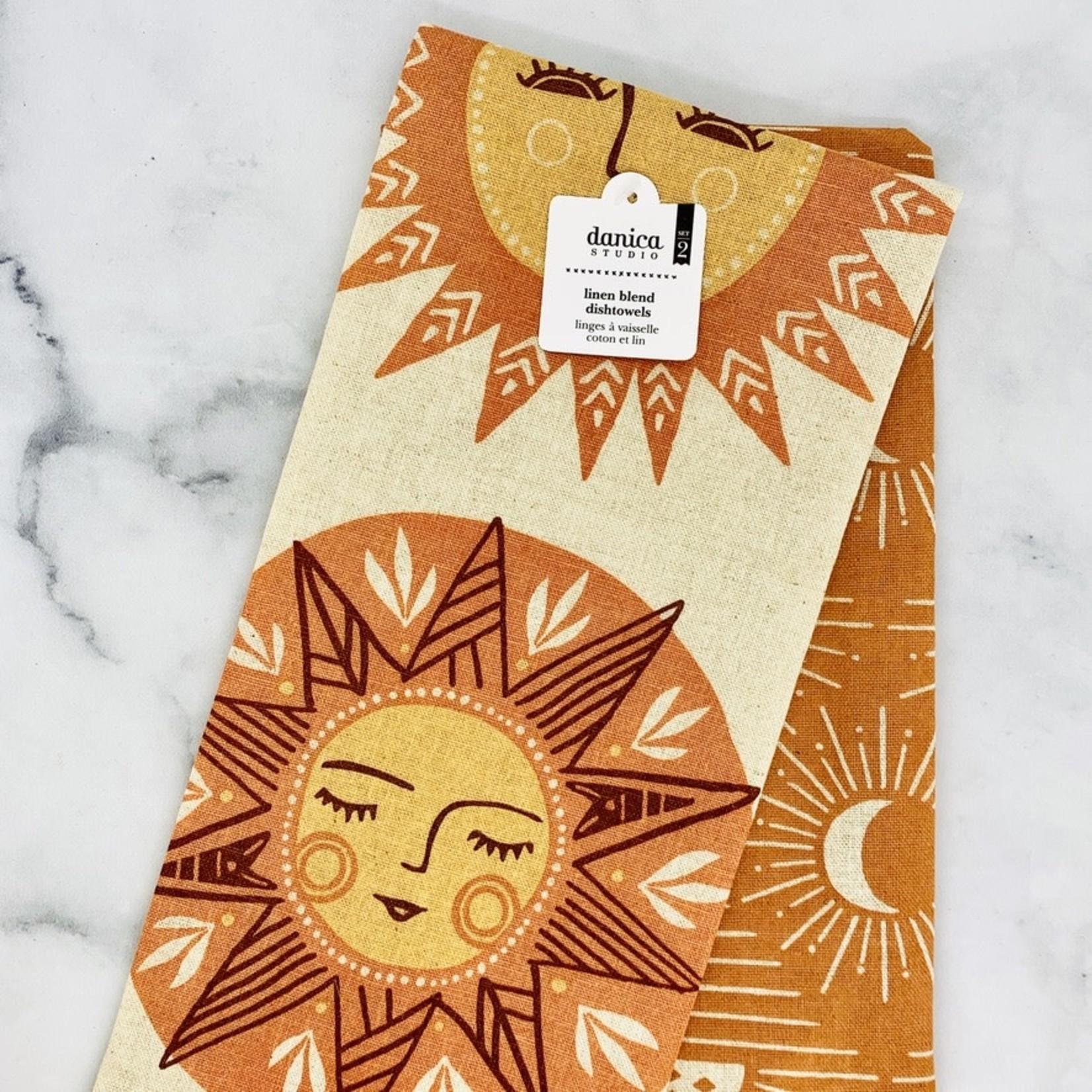 Soleil Tea Towels Set of 2