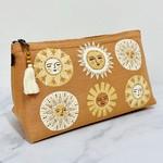 Soleil Large Cosmetic Linen Bag