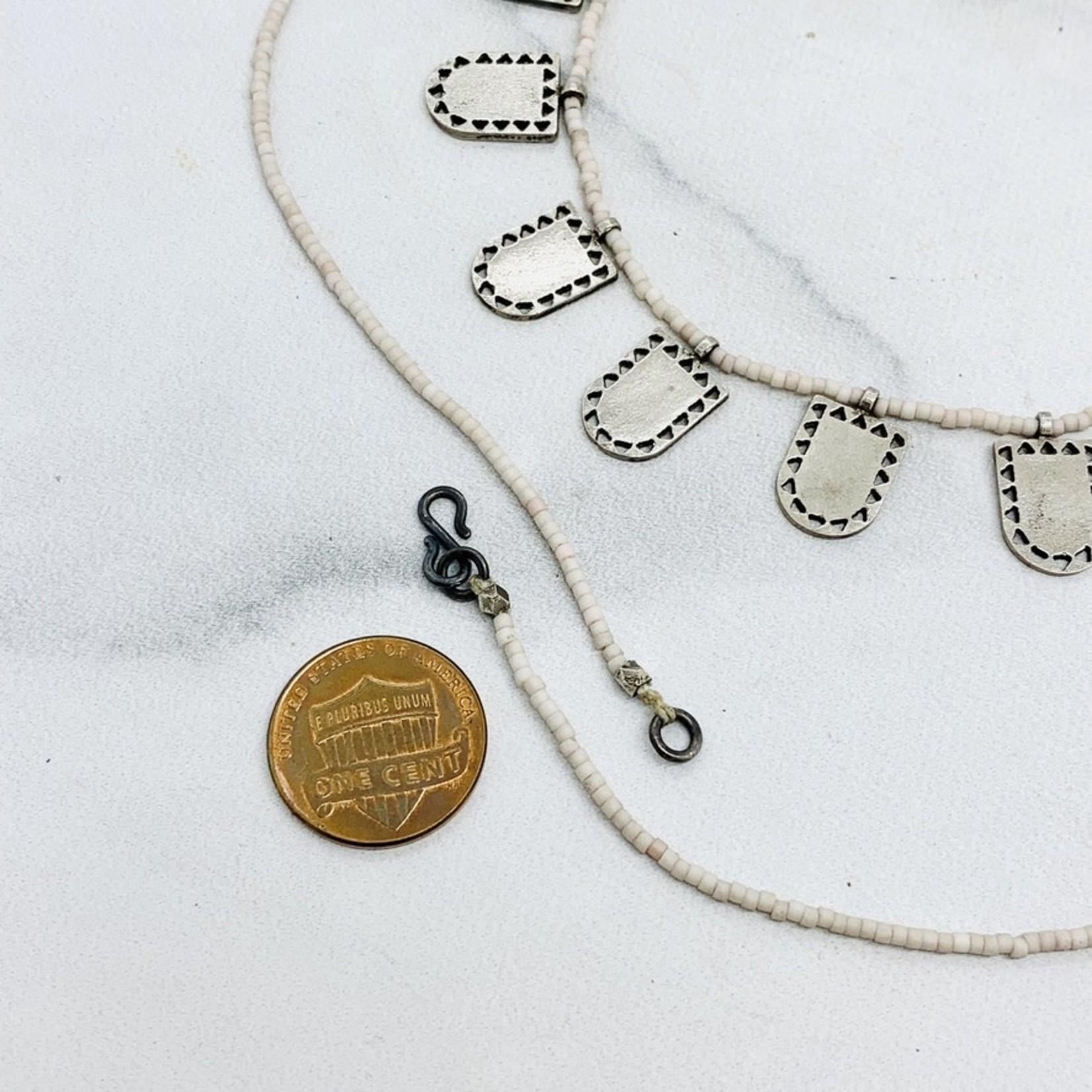 Silver Closed Portal Necklace by Molly M. Designs