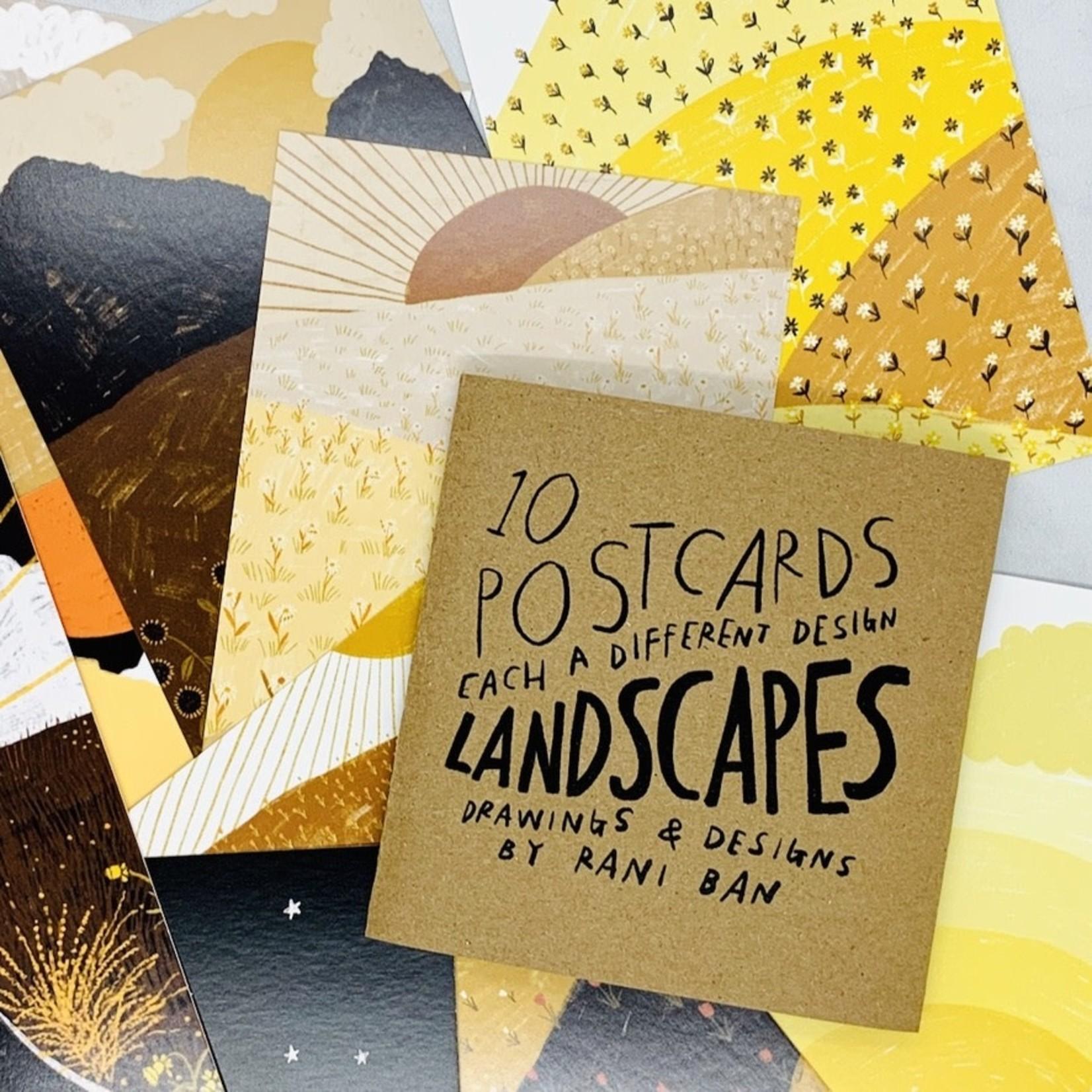 Rani Ban Co 16 Postcard Packs