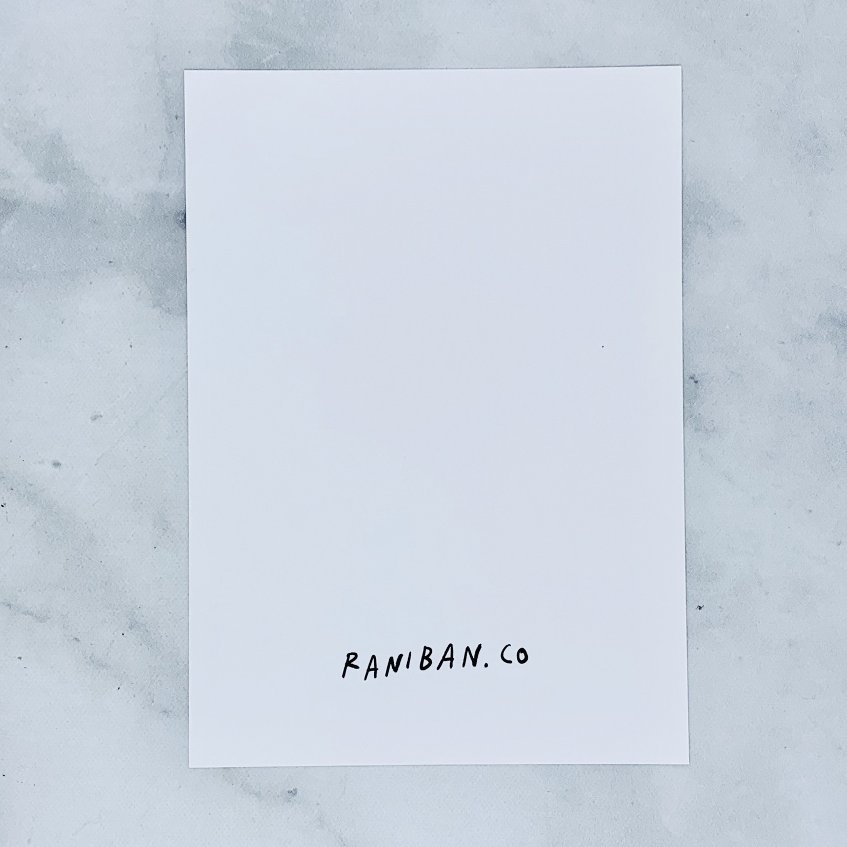 "Rani Ban Co Bless Our Tender Hearts 5"" x 7"" Print"