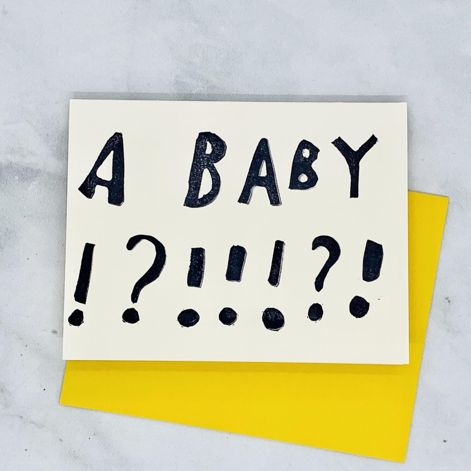 Rani Ban Co A Baby!? Card