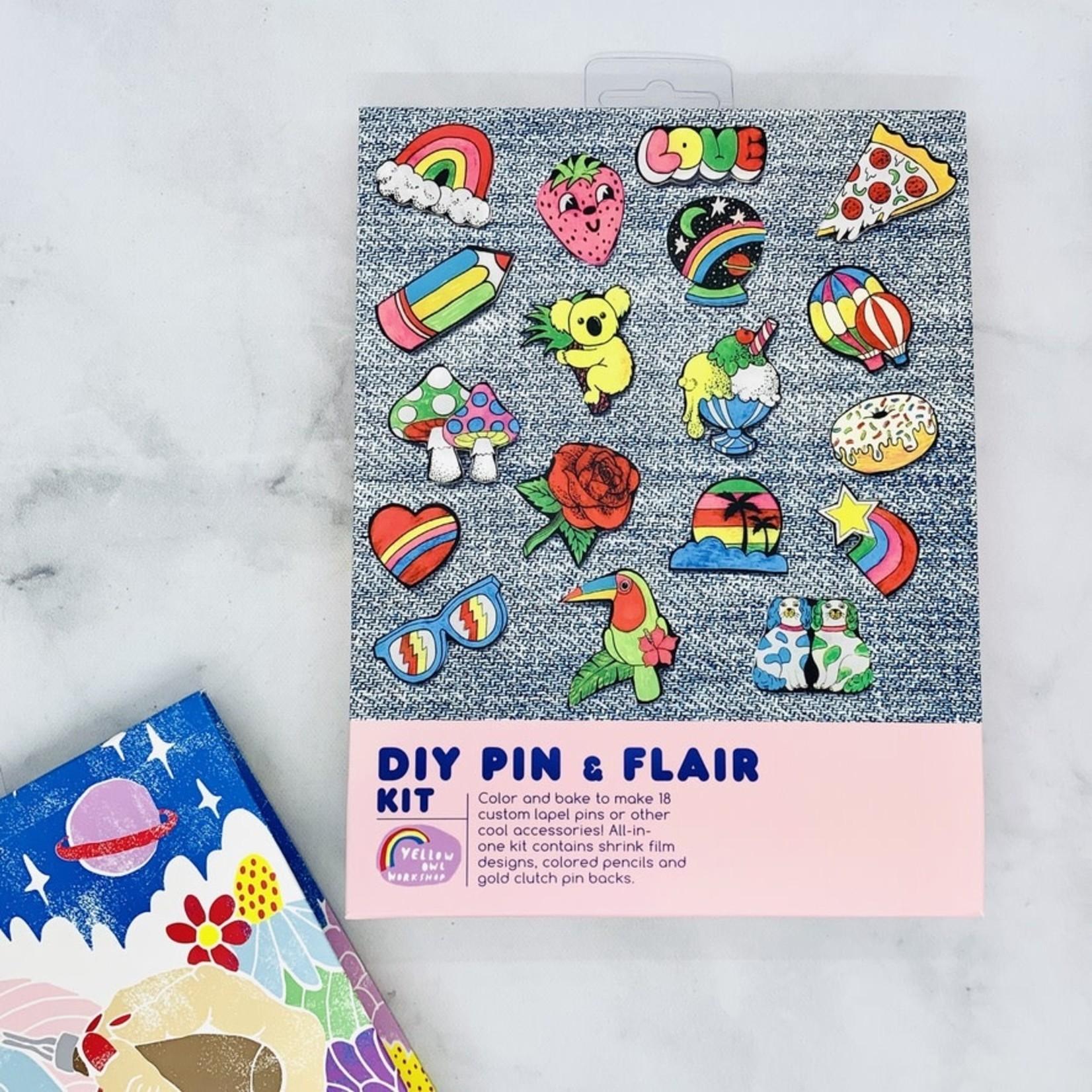 Yellow Owl Workshop DIY Pin & Flair Kit