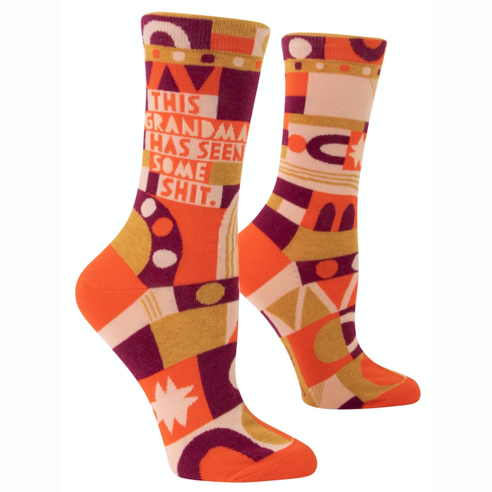 Grandma's Seen Shit Women's Crew Socks