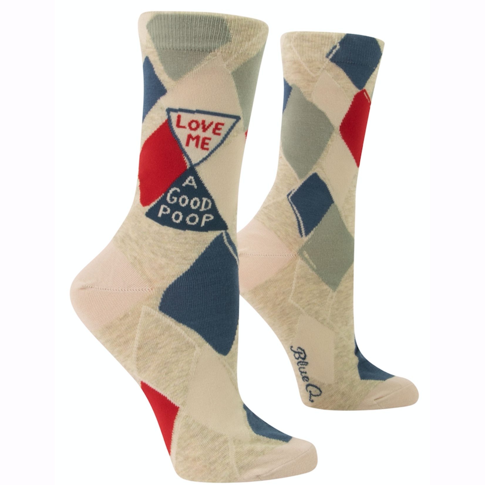 Love A Good Poop Women's Crew Socks