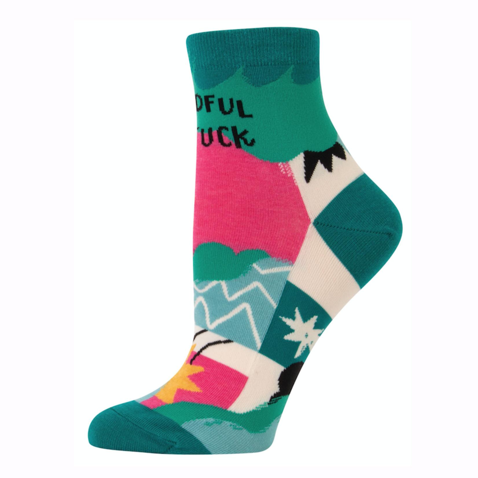 Mindful As Fuck Women's Ankle Socks
