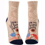 Love My Lil' Friend Family Women's Ankle Socks