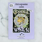 Print Club Puzzle Courage is Within