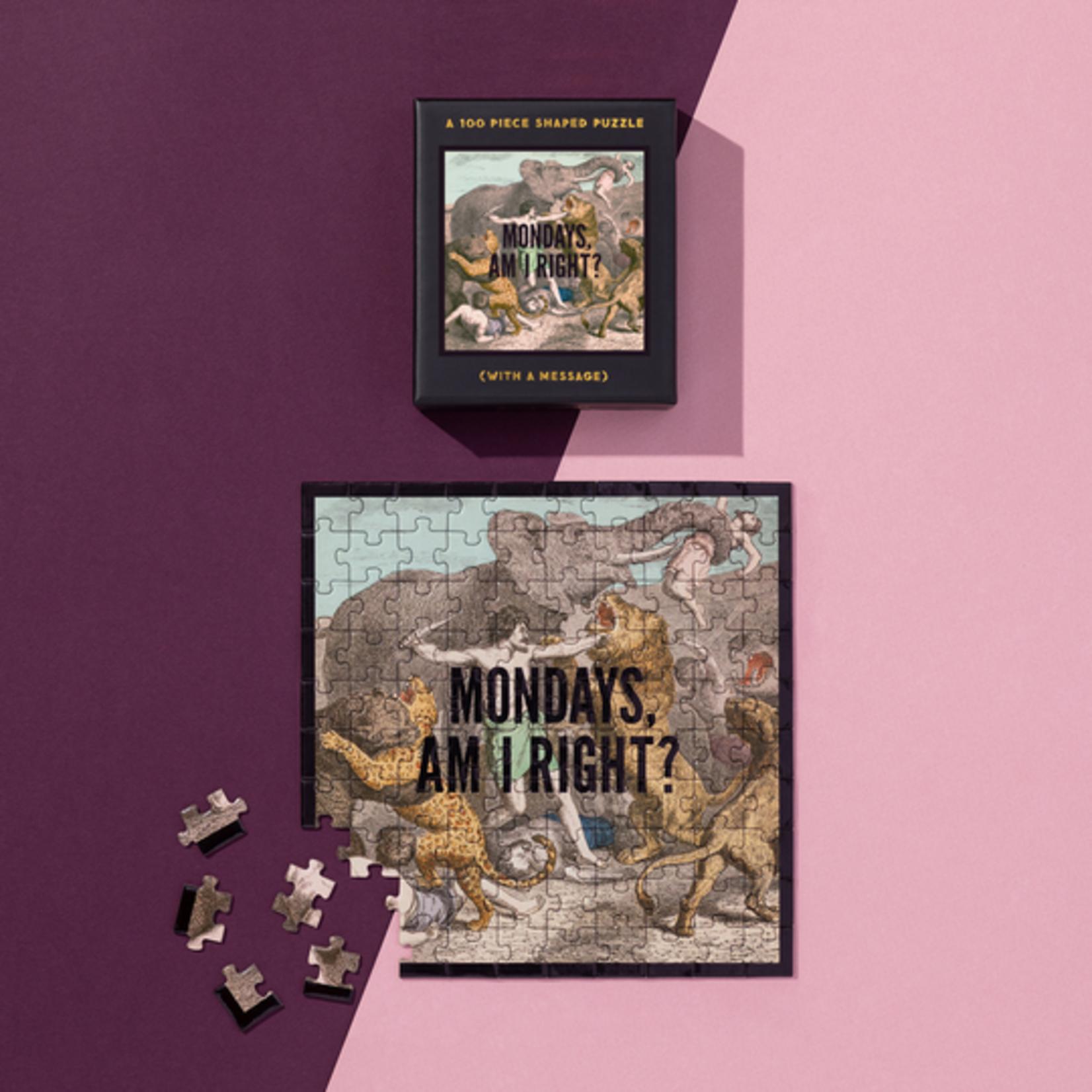 Mondays, Am I Right? Mini Puzzle 100pc