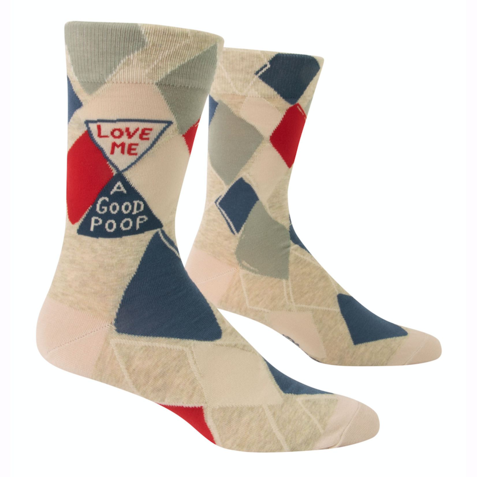 Love Me A Good Poop Men's Crew Socks