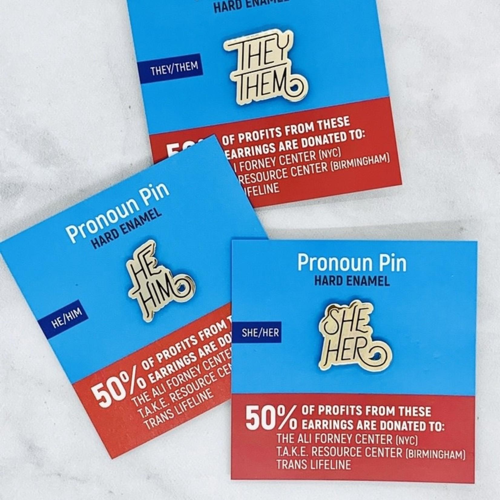 Pronoun Pins