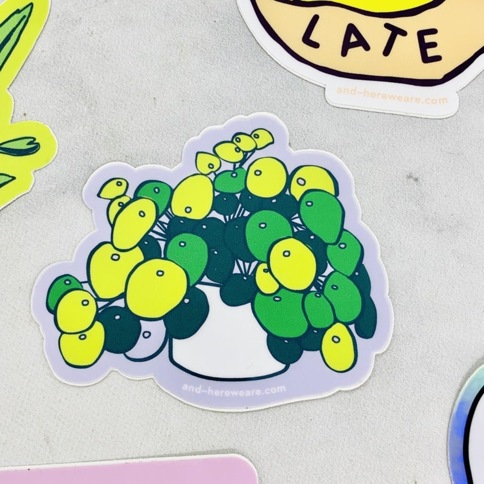 Pilea Sticker