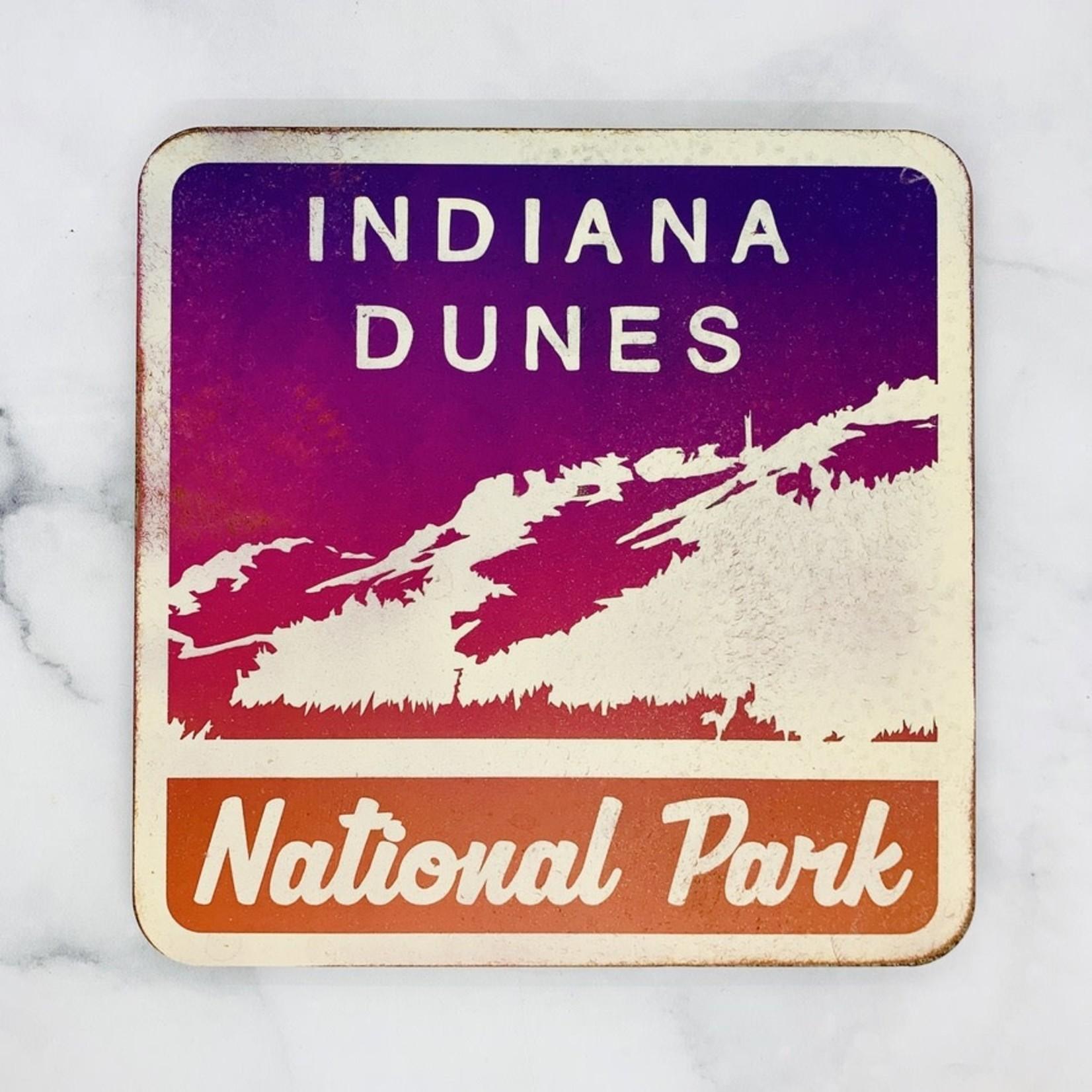 Indiana Dunes National Park Metal Sign, 10x10