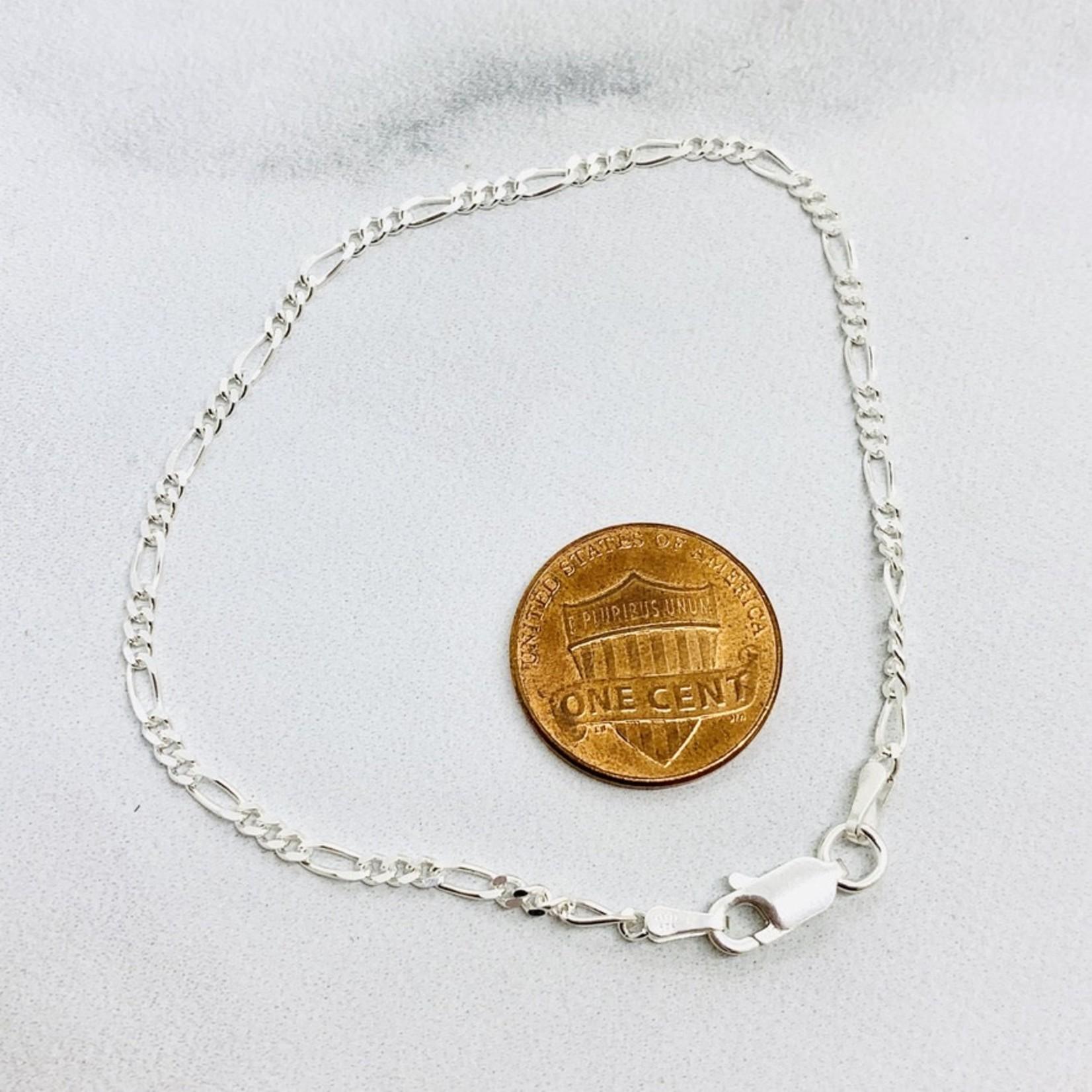 Sterling Silver 2mm Figaro