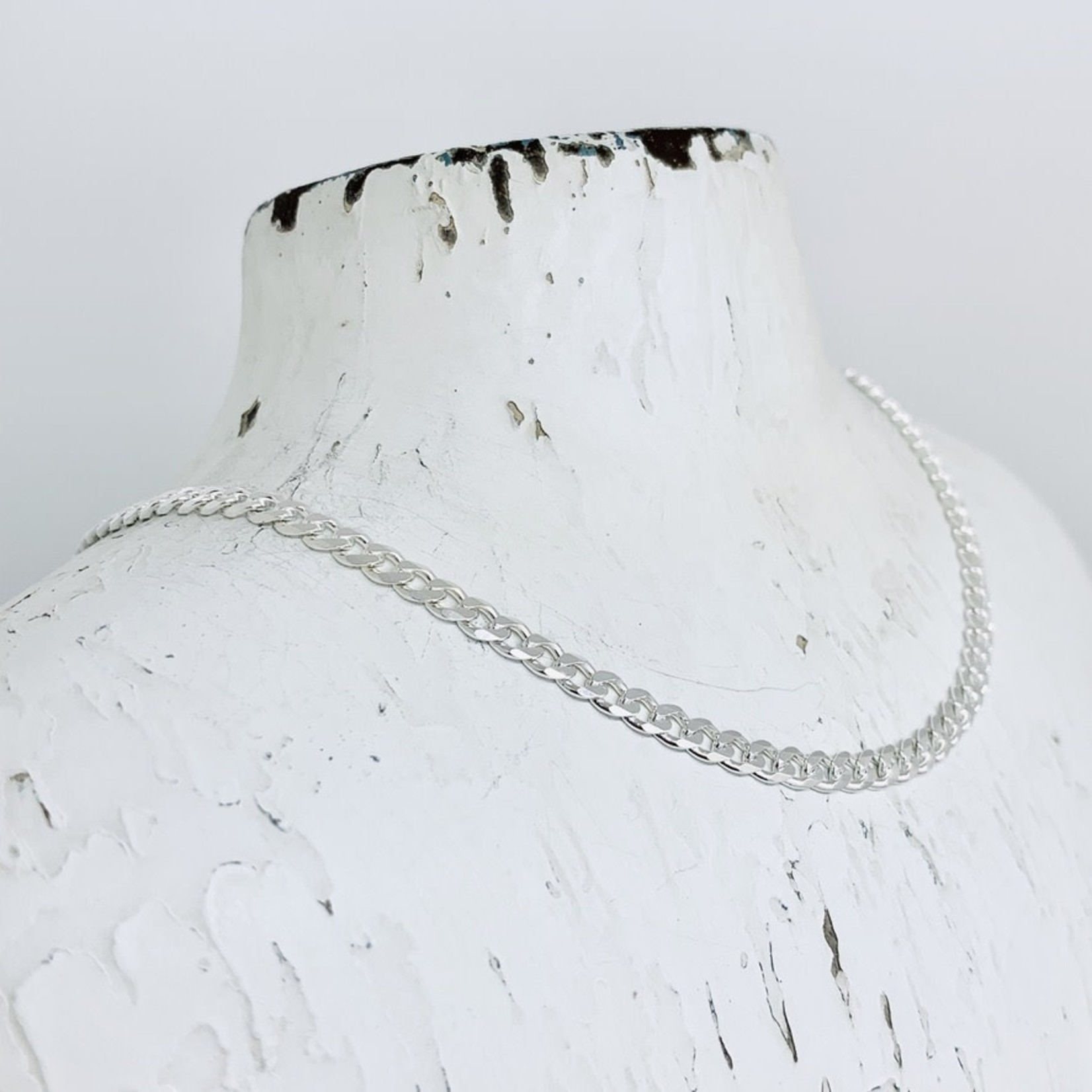 Sterling Silver 4mm Curb Chain
