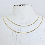 Gold Filled Rolo Chain Necklace