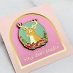 Tiny Deer Studio Poppy Deer Pin with Natelle Quek