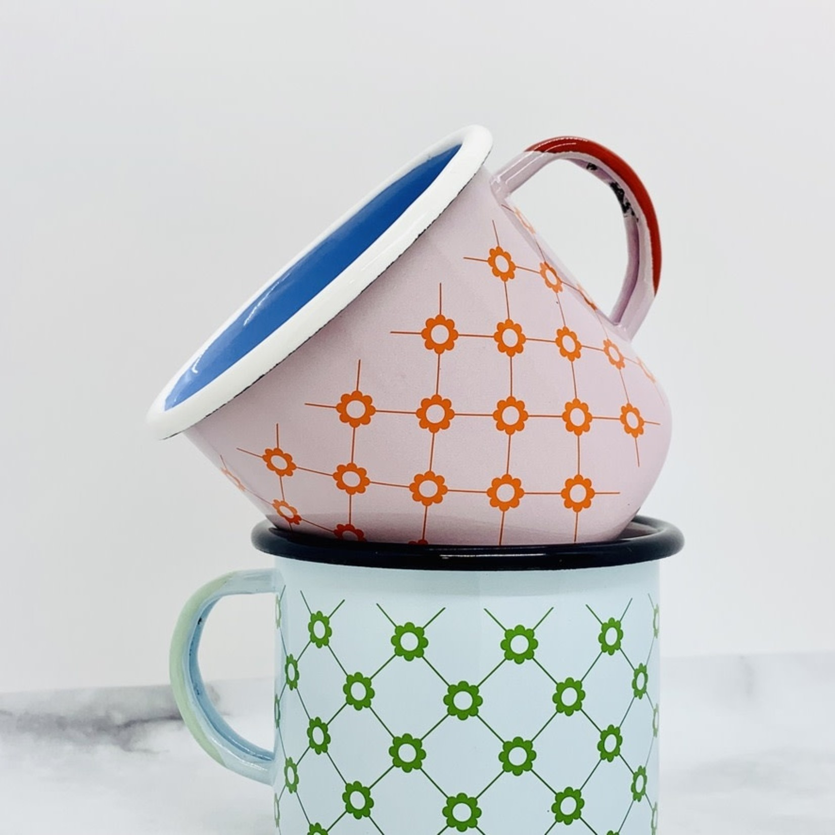 Tiny Deer Studio Enamel Camp Mug