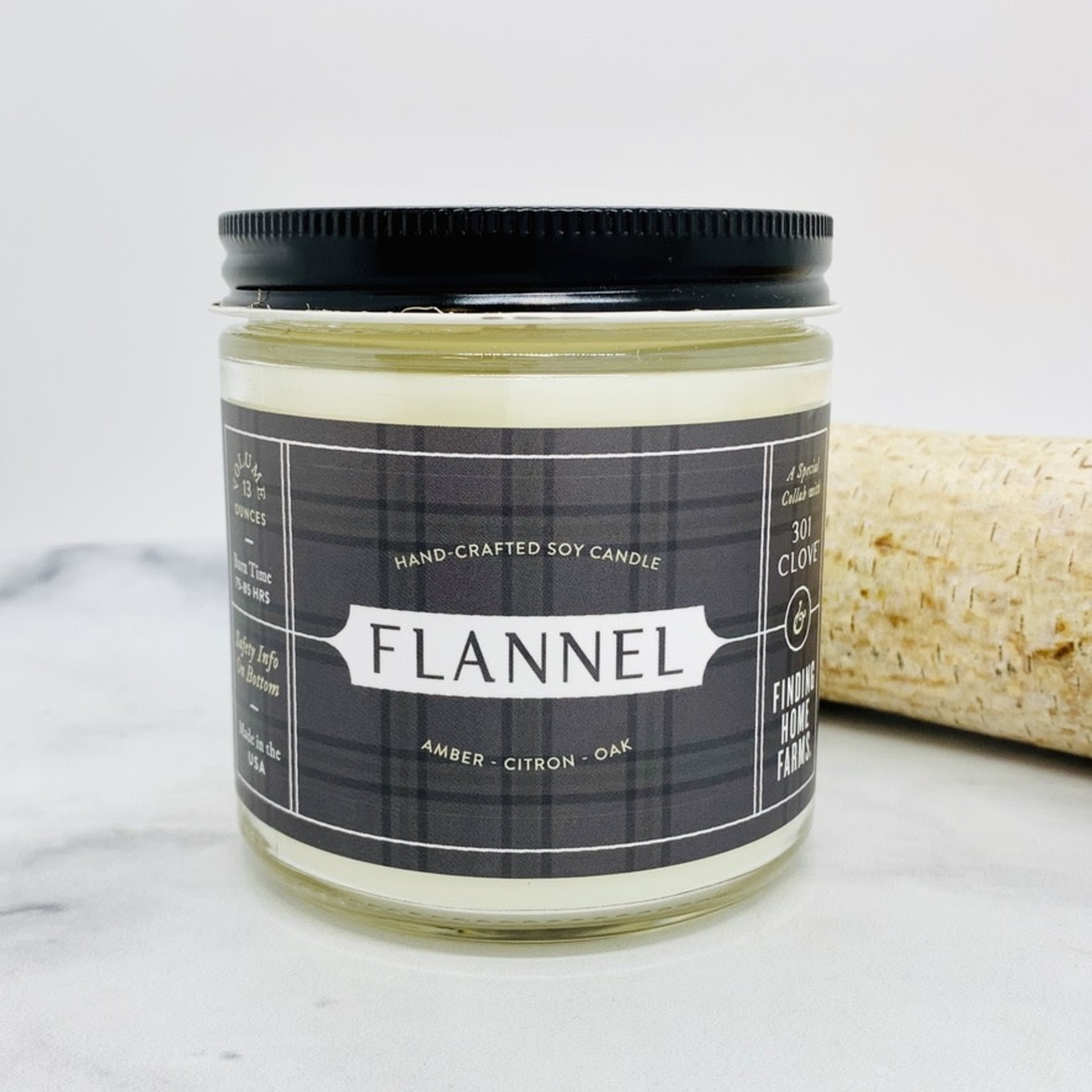 Flannel Candle 13 oz