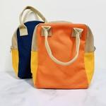 Block Zipper Lunch Bag